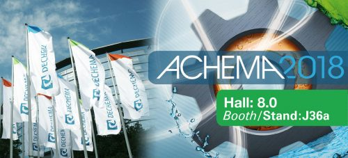 Lidering will attend Achema 2018 in Frankfurt