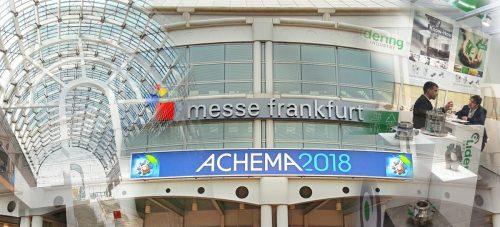 Lidering auf der Achema 2018 – maßgeschneiderte Lösungen für eine flexible Industri