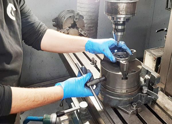 Fabricación sello mecánico Lidering
